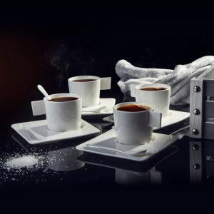 Чайные и кофейные наборы с логотипом