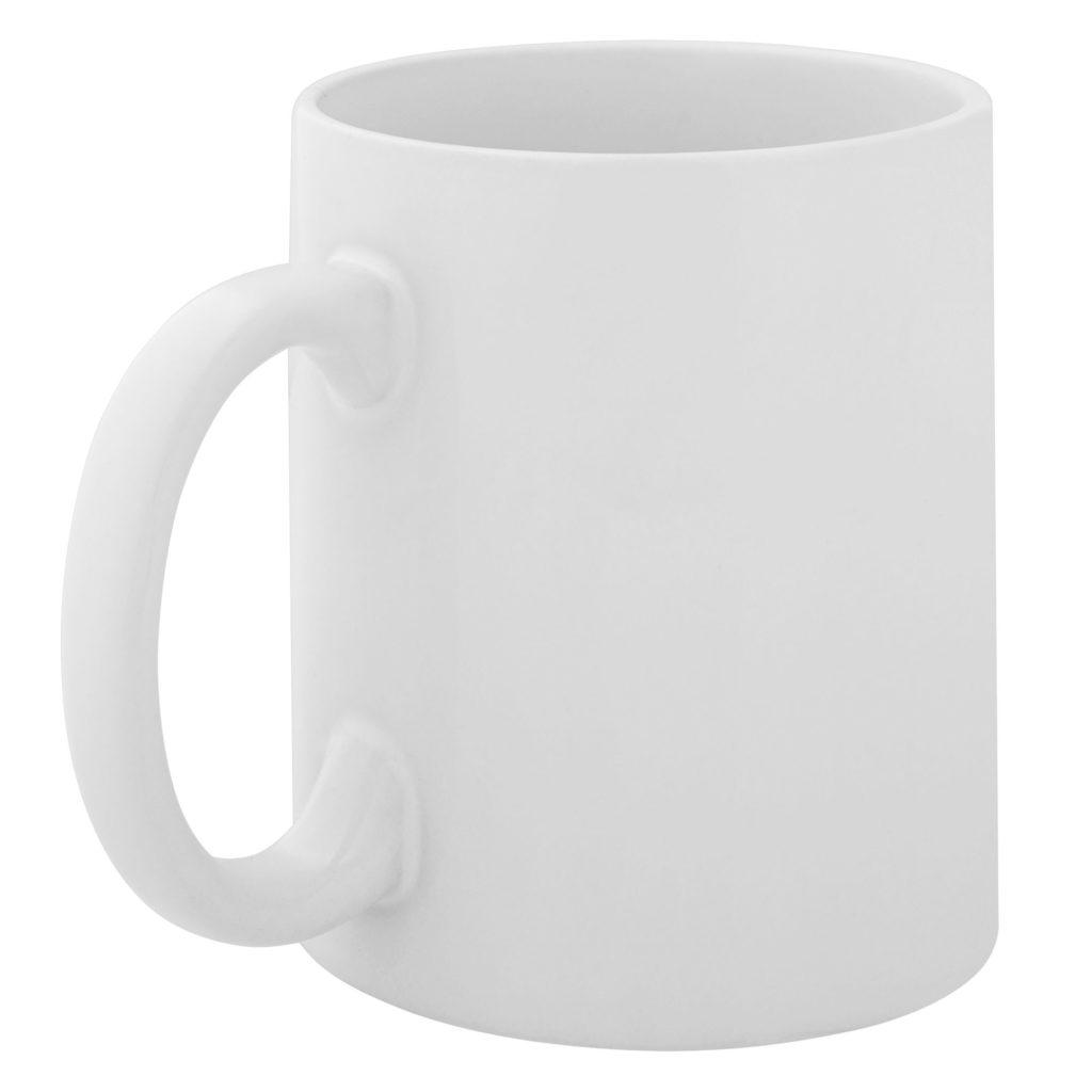Кружка белая с логотипом