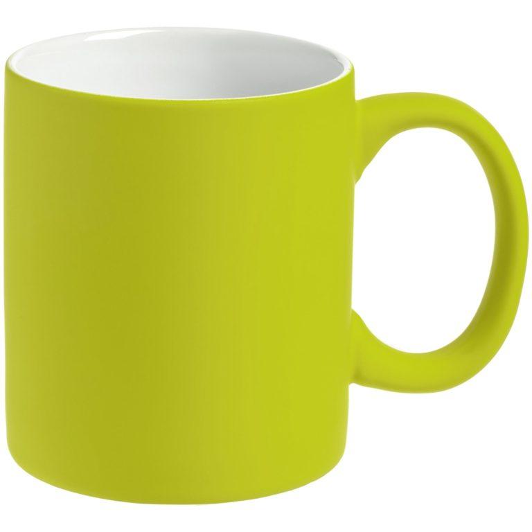 Кружка цветная c покрытием софт-тач