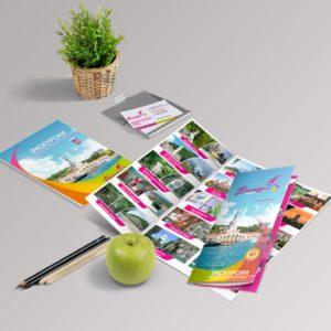 Изготовление листовой печатной продукции
