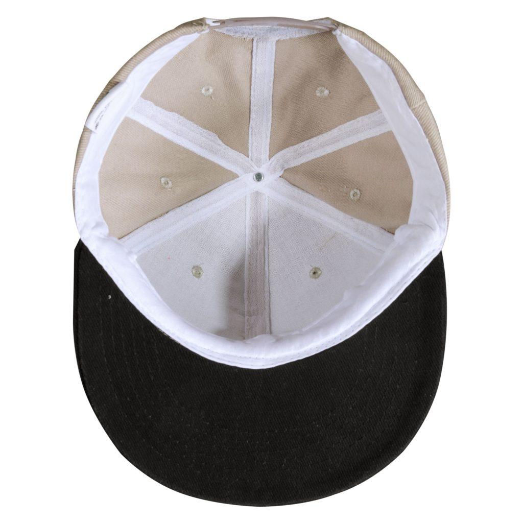 Бейсболка Unit Heat с прямым козырьком, двухцветная, 340 гр.