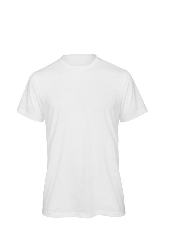 Футболка мужская SUBLIMATION белая, 140 гр