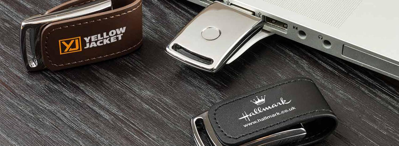 Тиснение логотипов на USB-флешках