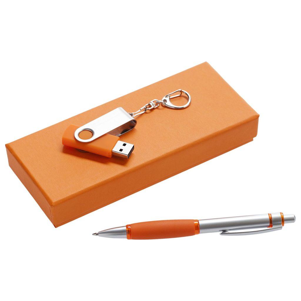Набор Notes: ручка и флешка