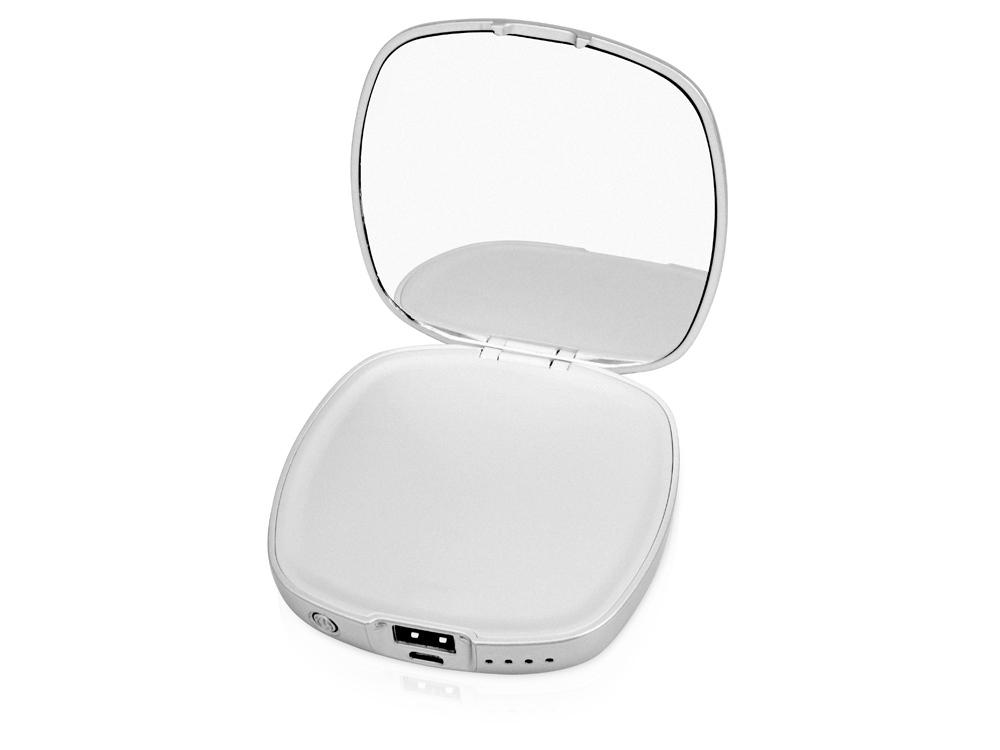 Портативное зарядное устройство «Рефлект», 4000 mAh с зеркальцем