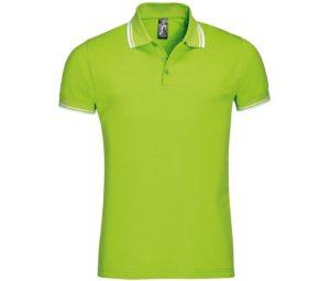 Рубашка поло мужская PASADENA MEN 200 с контрастной отделкой