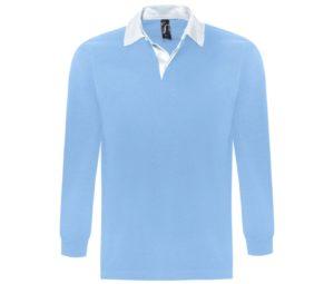 Рубашка поло мужская с длинным рукавом PACK 280