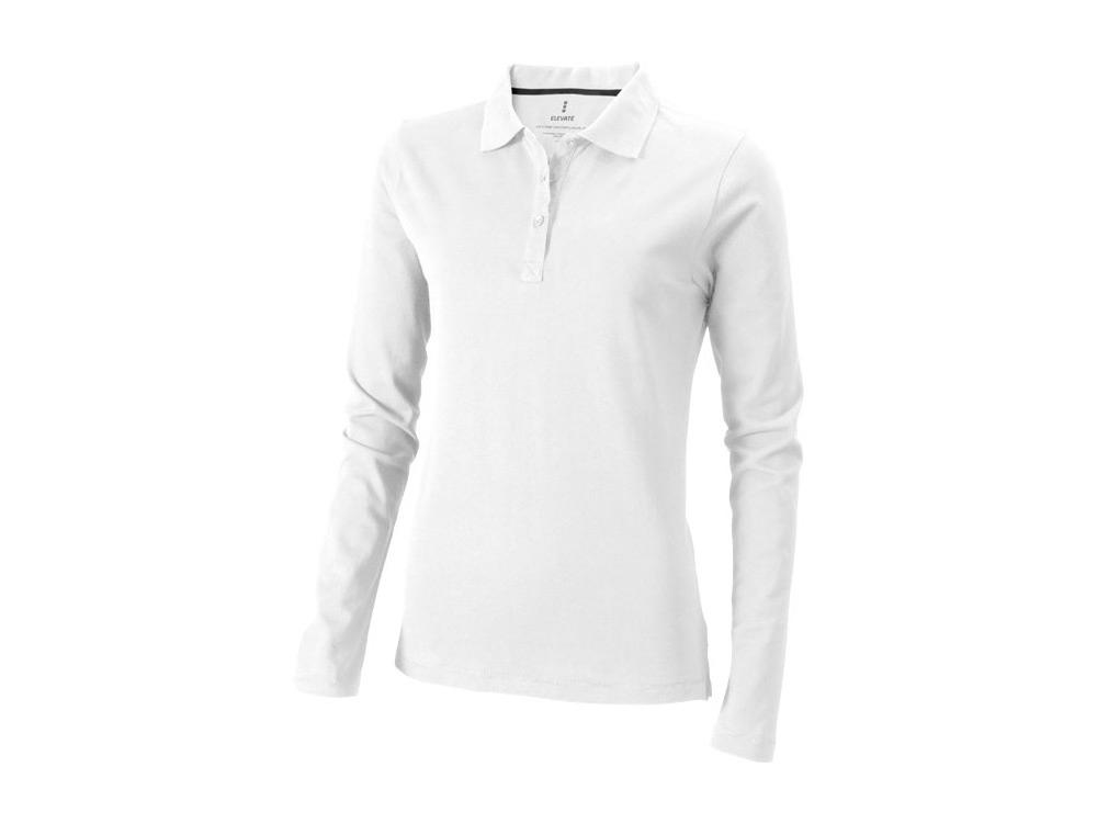 Рубашка поло «Oakville» женская с длинным рукавом, 200 гр