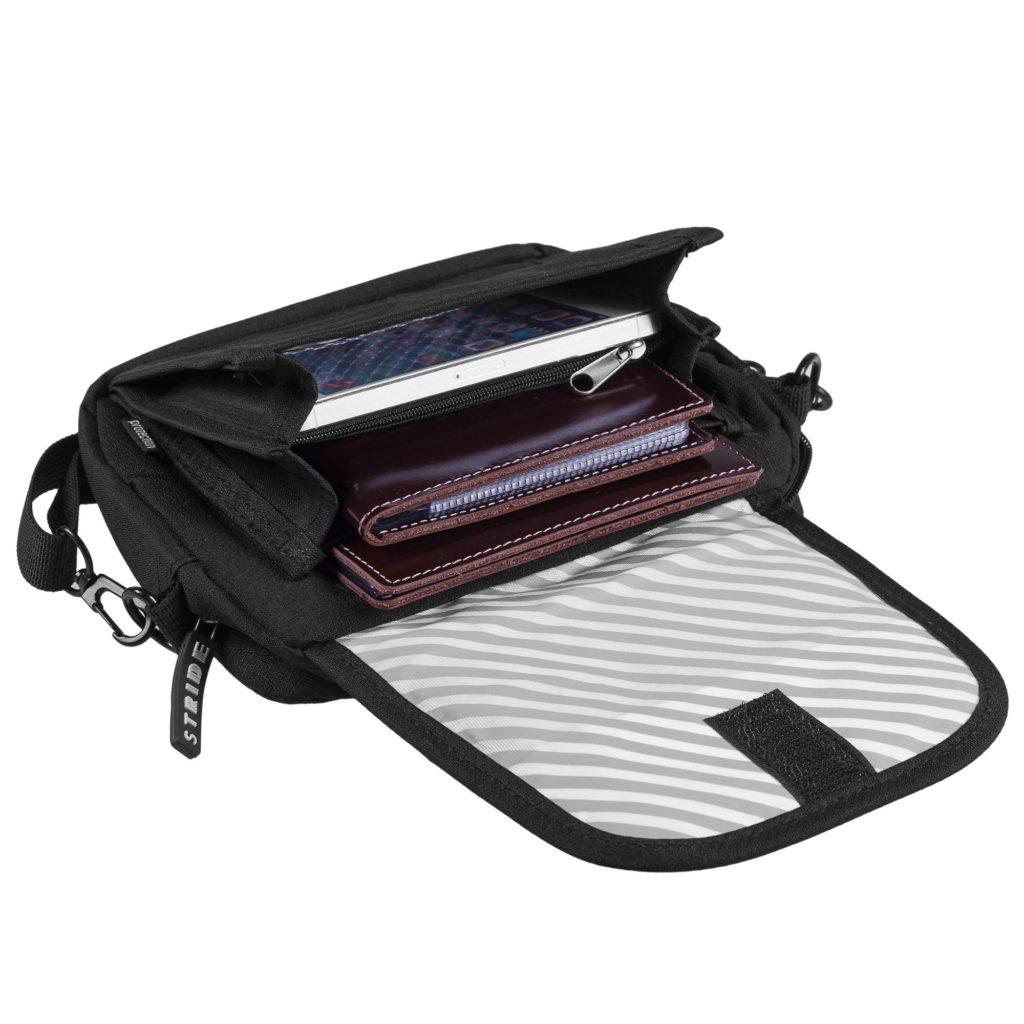 Сумка-органайзер для путешествий Anticut с RFID-защитой