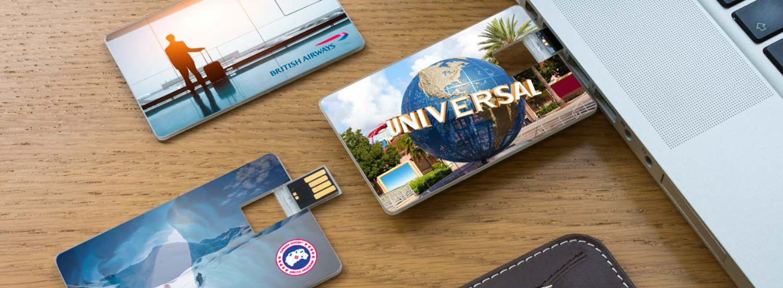 УФ-печать логотипов и изображений на USB-флешках