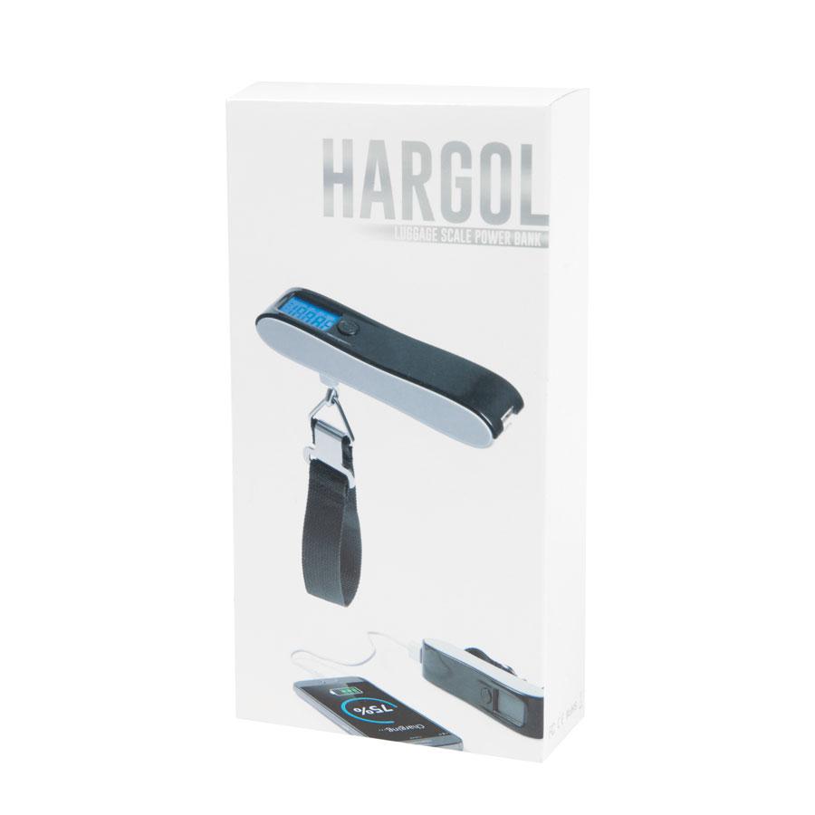 Универсальное зарядное устройство «Hargol», 2200mAh с багажными весами