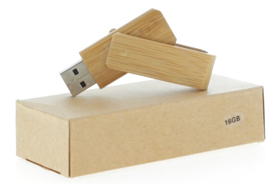 USB флеш карта Bamboo
