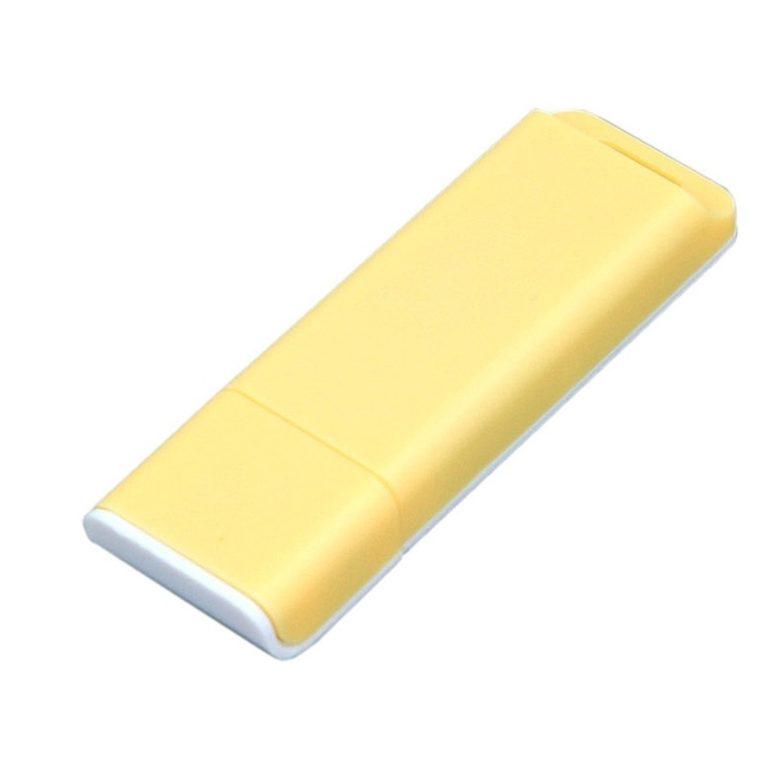 USB-флешка с оригинальным двухцветным корпусом