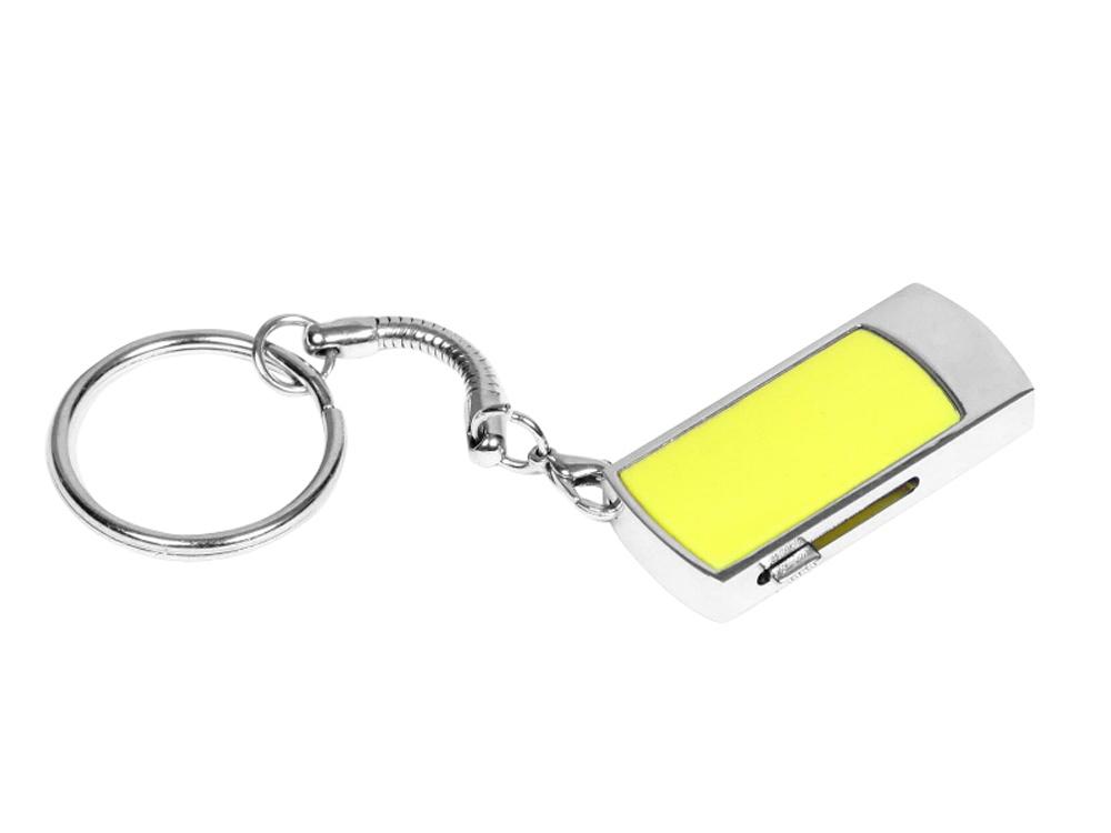 USB-флешка с выдвижным механизмом и мини чипом