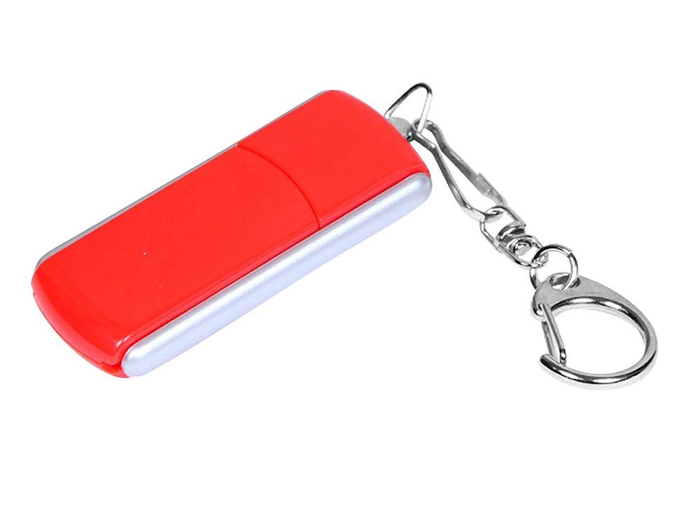 USB-флешка промо с прямоугольной формы с выдвижным механизмом