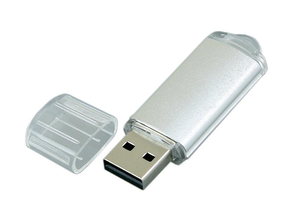 USB-флешка с прозрачным колпачком