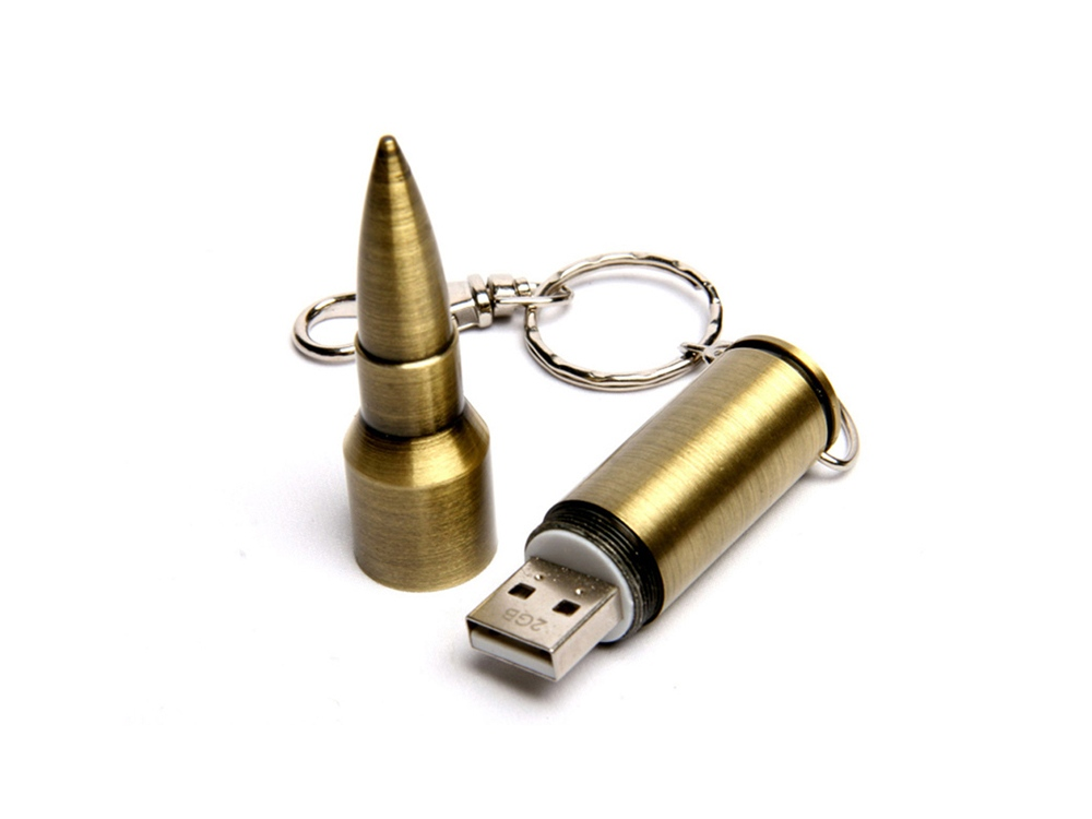 USB-флешка в виде патрона от АК-47