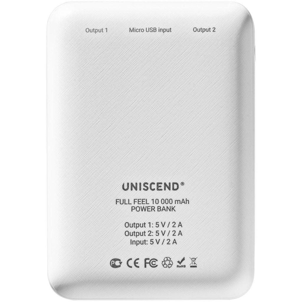 Внешний аккумулятор Uniscend Full Feel 10000 мАч с индикатором