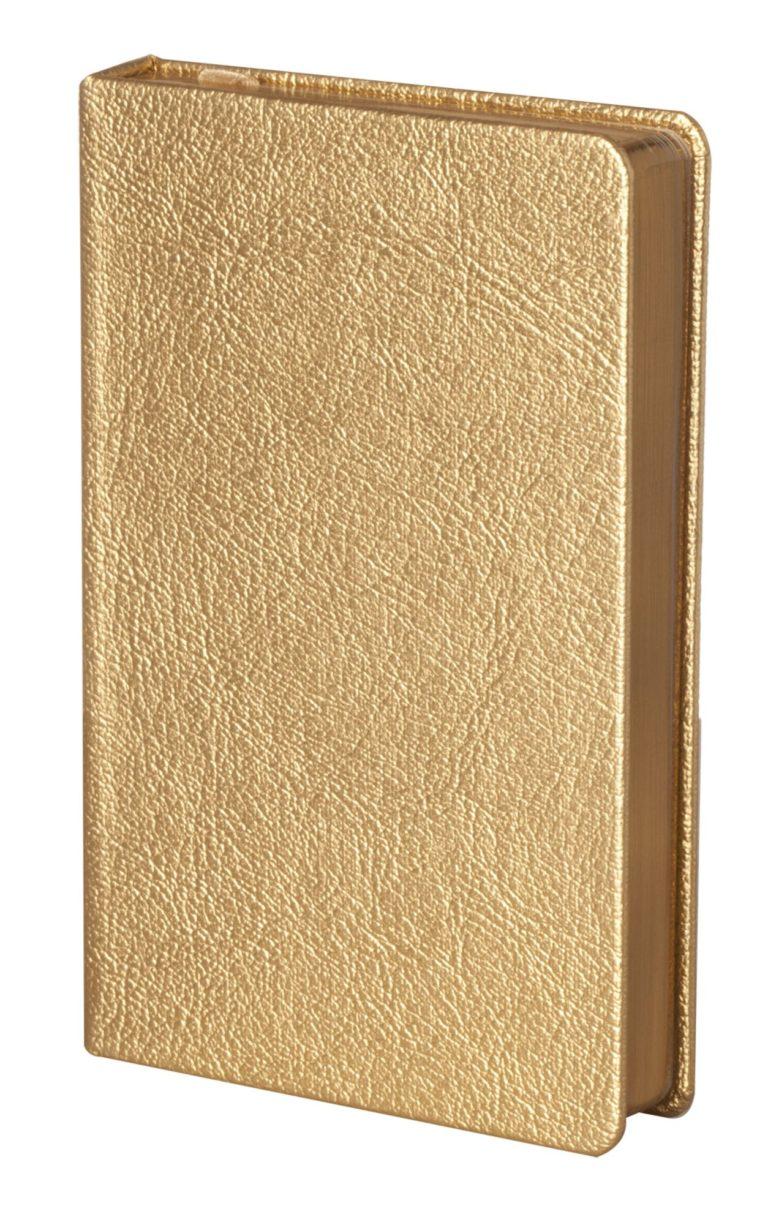 Ежедневник Ingot, недатированный, золотистый, А6