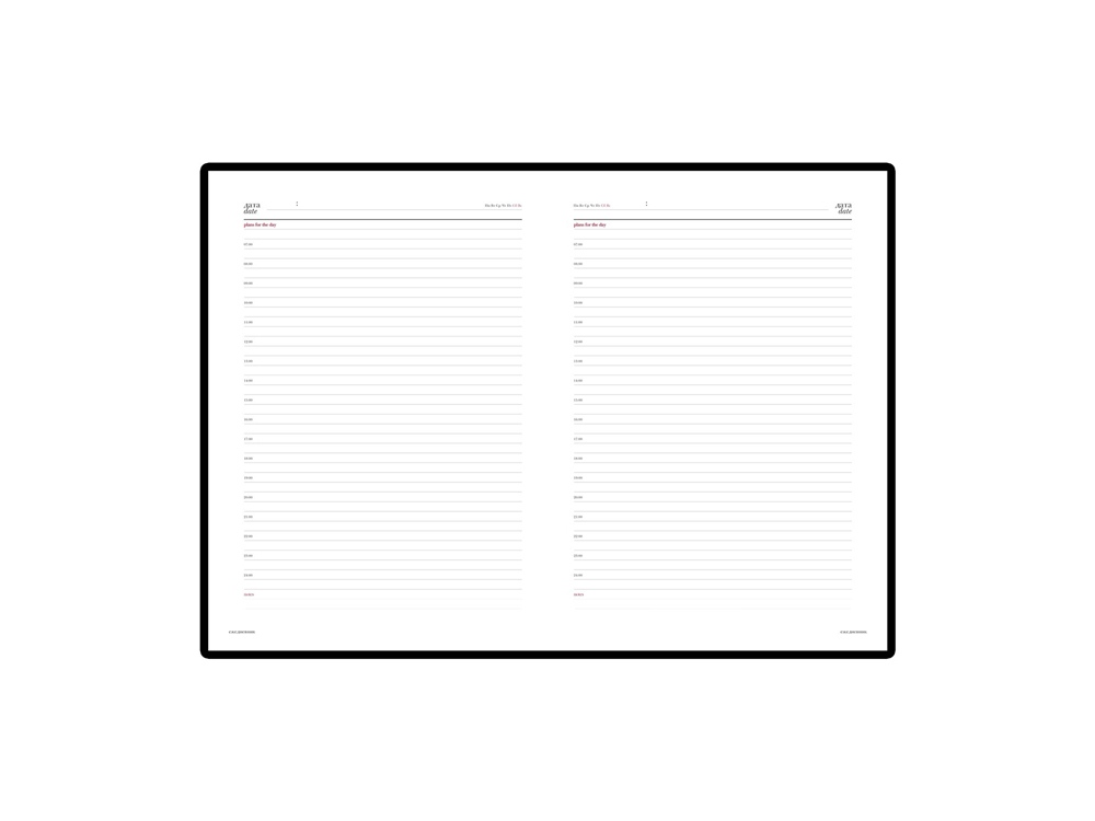 Ежедневник недатированный «Velvet»,  А4, А5, А6+