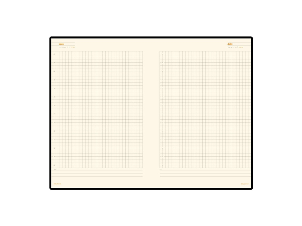 Ежедневник недатированный «Glossy Pro»,  А5