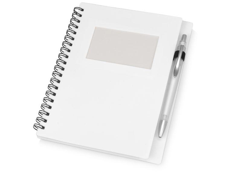 Блокнот Контакт с ручкой