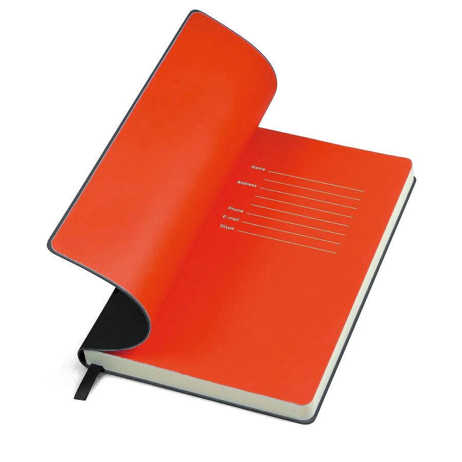 Бизнес-блокнот FUNKY, формат А5, в линейку