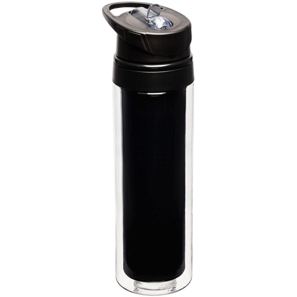 Бутылка для воды с полиграфической вставкой