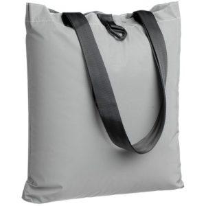 Шоппер Manifest из светоотражающей ткани, серый